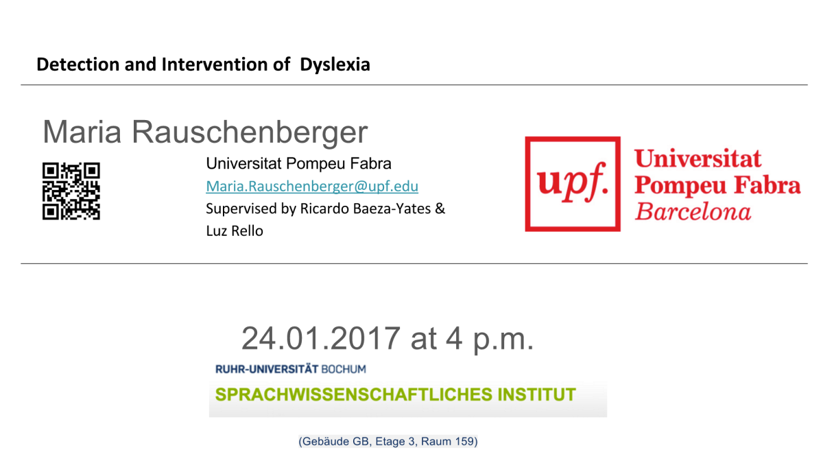 Präsentation in Bochum2017