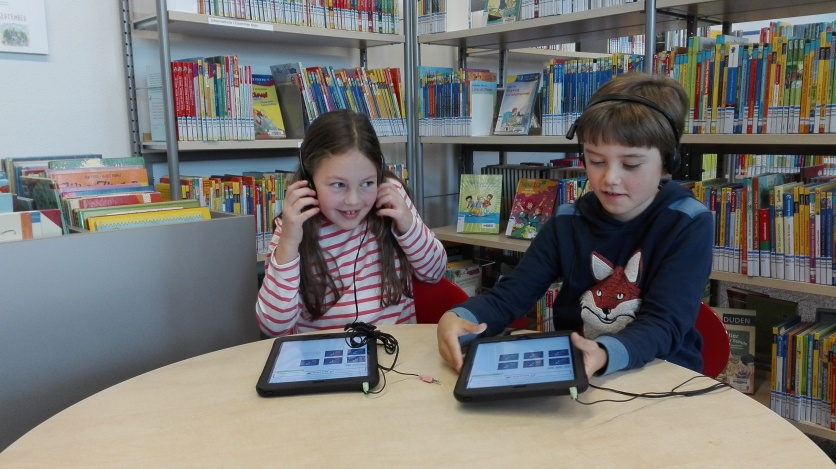 Die Kinder haben motiviert das Spiel gespielt und sehr positives Feedback nach der Teilnahme an der Studie gegeben. (c) Maria Rauschenberger