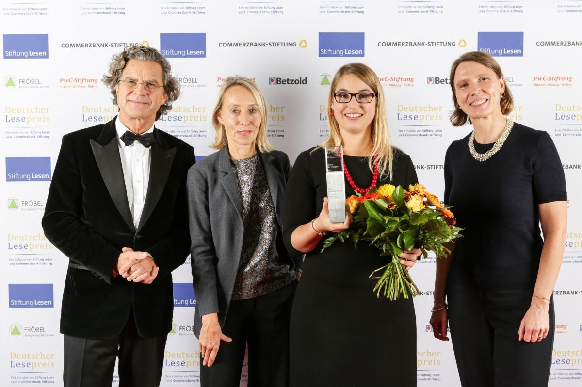 Forschung zur LRS gewinnt den Deutschen Lesepreis2017